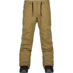 2018 NWT MENS ANALOG BURTON THATCHER SNOW PANTS $175 kelp ta