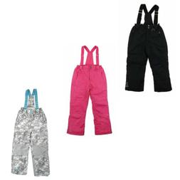 32 Degrees Weatherproof Insulated Overall Snow Pants for Gir