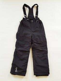 Weatherproof 32 Degrees Snow Pants Black Zip Off Suspender,