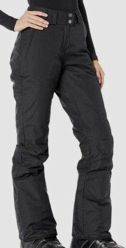 $498 Columbia Women's Black Waterproof Omni Tech Wide-Leg Zi