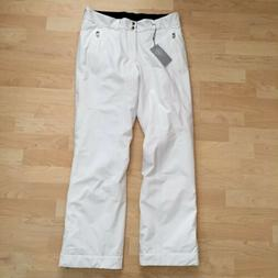 Bogner $690 Men's James T Ski Pants Size 32 Small 46 White S