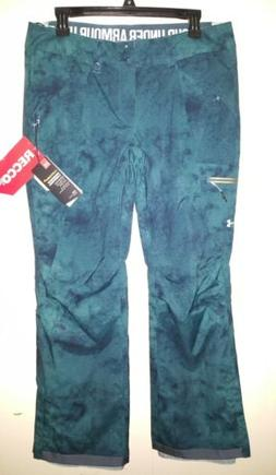 New Under Armour Coldgear Infrared Recco Snow Ski Pants Wome