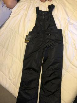 Arctic  Quest  size  Small youth Boys Black Ski/snow Pants N