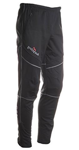 Men's Categories Bike Pants Fleeced For Cold Weather, Black,