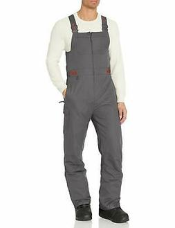 Arctix Men's Athletic Fit Avalanche Bib Overall, Charcoal, M