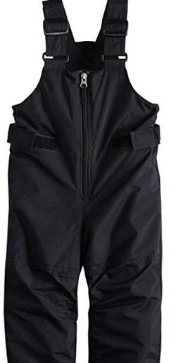 Columbia Big Boys' Snowslope II Bib, Black