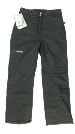 Arctix Black Insulated Snow / Ski Pants Size Youth Large