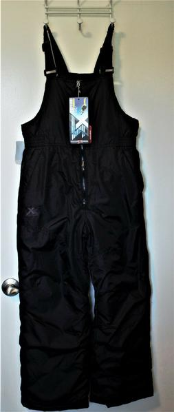 Black Zero Xposure Snow Ski Bibs/Pants - Youth Large L 14-16
