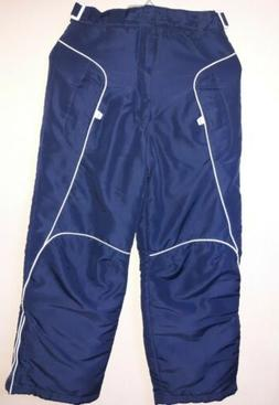Blue london fog snow pants kids 10/12