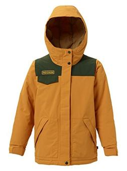Burton Boys Dugout Jacket, Squashed/Resin, Medium