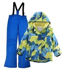 M2C Boys Hooded Thicken Warm Ski Snowsuit Jacket & Pant 5T