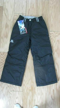 ZeroXposur Boys Medium 10/12 Snow Pants Ski Black Pocket Sle