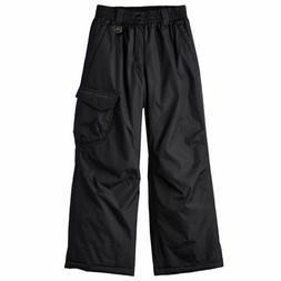 Boys ZeroXposur Platinum Snow Pants Black - S, M, L MSRP $60
