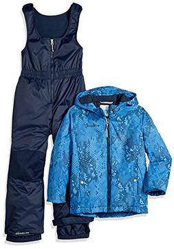 Columbia Boys' Toddler Girls' Frosty Slope Set, Super Blue E