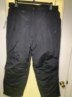 Athletech Brand, Mens Black Snow Suit Pants, Size Large with