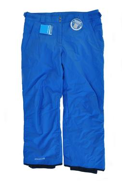 Columbia Bugaboo II Ski Waterproof Snow Pants Blue Mens Sz 3