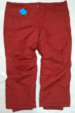 Columbia Bugaboo IV Snow Pants Men's Size 4XL Regular Red MS