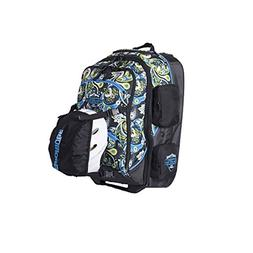 Sportube Cabin Cruiser Carry On Boot Bag, Paisley
