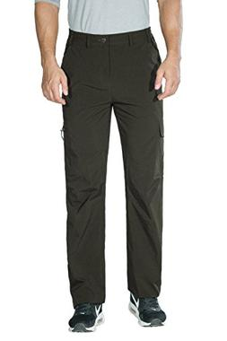 Unitop Men's Casual Lightweight Quick-Drying Pants Outdoor P
