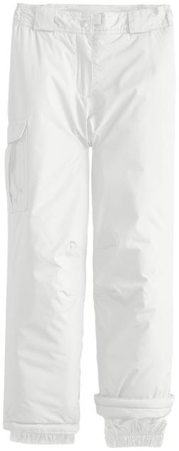 White Sierra Girls Cruiser Insulated Pants, Medium, Milky Wh