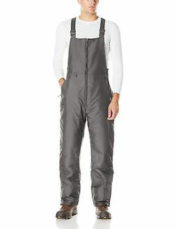 Arctix Men's Essential Bib Overall, Charcoal, Large/Regular