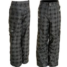 girl s amelia plaid ski snow pants