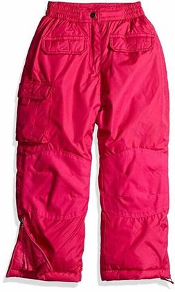 iXtreme Girl's Winter Ski Snow Pants - BERRY PINK - XL 16/18