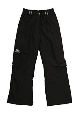 ZeroXposur Girls' Big Cinzia Snowpants, Black, S/7/8