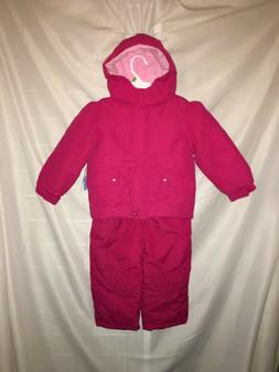 Girls Snow Suits 18 Month 3T New 2 PC Sets Winter Jacket Coa