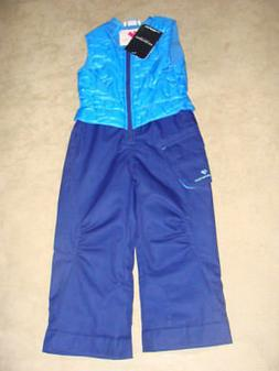 GIRLS TODDLER KIDS OBERMEYER CHACHA SNOW  PANTS / BIB SIZE 4