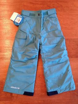 Columbia Girls Winter Snow Pants Childrens Kids Youth XXS 4/