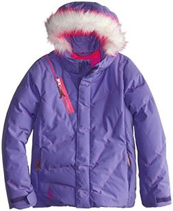 Spyder Girls Hottie Jacket, 18, Pure/Bryte Bubblegum