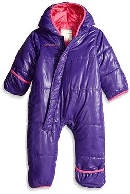 Arctix Infant Snow Bunting Suit Snowsuit Size 6/9 Months Pur