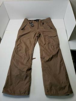 686 InfiDry Snow Pants All Access Fit Mens Large Brown NWT H