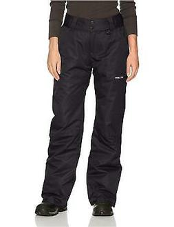Arctix Women's Insulated Snow Pant, Black, Small/Petite