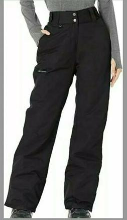 Arctix Women's Insulated Snow Pant, Black, 1X-Large/Regular