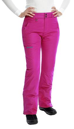 Women's Insulated Snow Pant , Large/Regular, Orchid Fuchsia