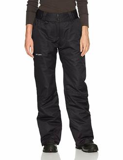 Arctix Insulated Snow Ski Pants Black Women's Large Petite S