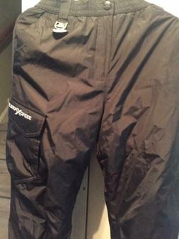 Kids Snow Pants  ZEROXPOSUR  Large 14 / 16 / Black new with
