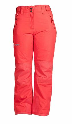 Arctix Kids Snow Pants With Reinforced Knees and Seat - Girl