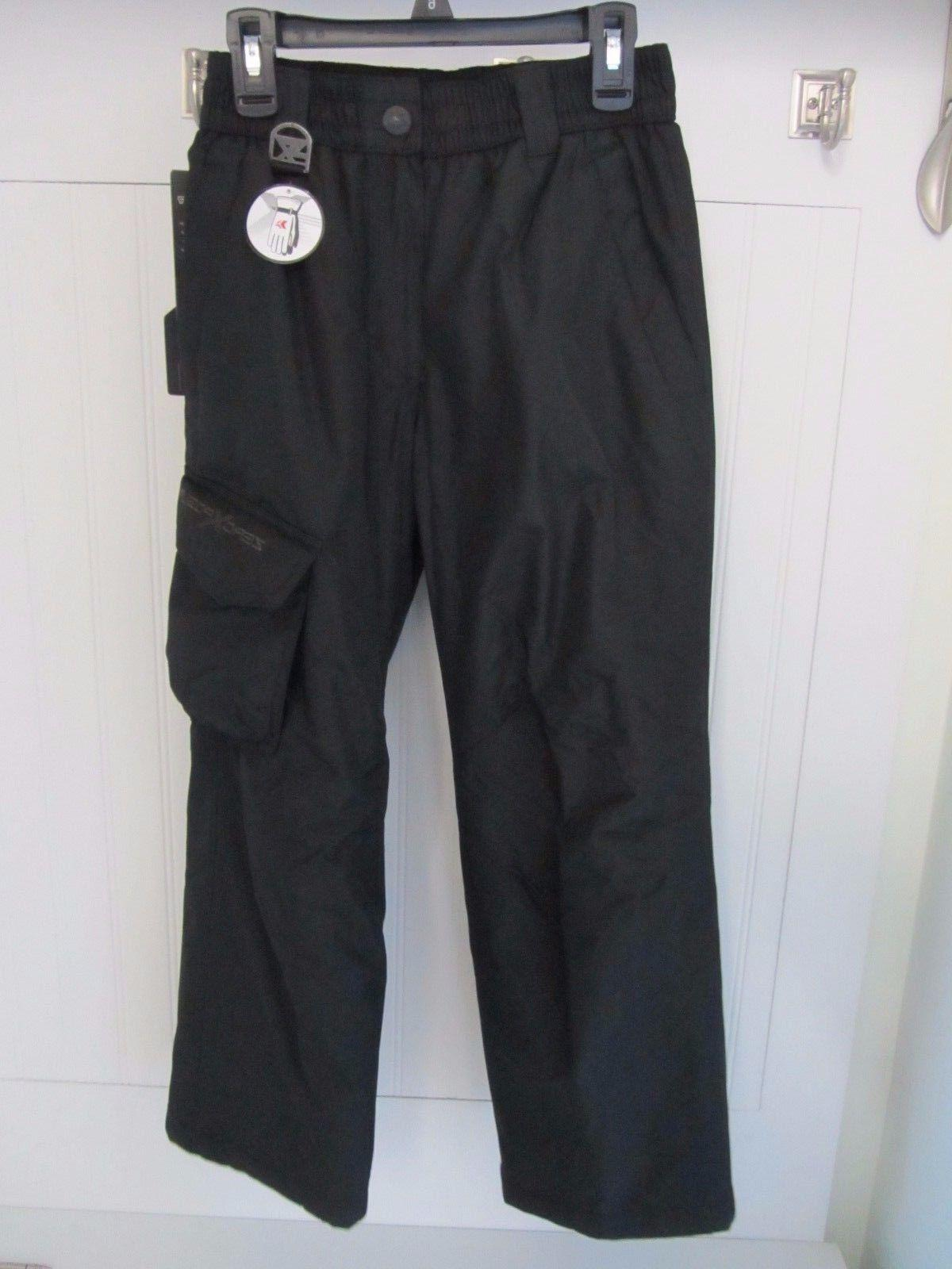 ZEROXPOSUR $60 Black Snow Skiing Thermal Insulated Pants Boy