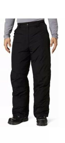 $60 WHITE SIERRA INSULATED BLACK TOBOGGAN/SNOW PANTS SIZE Me