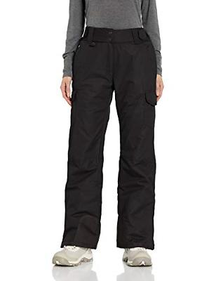 Columbia Men's Ski/Snow Pants, X Large, Black with strap
