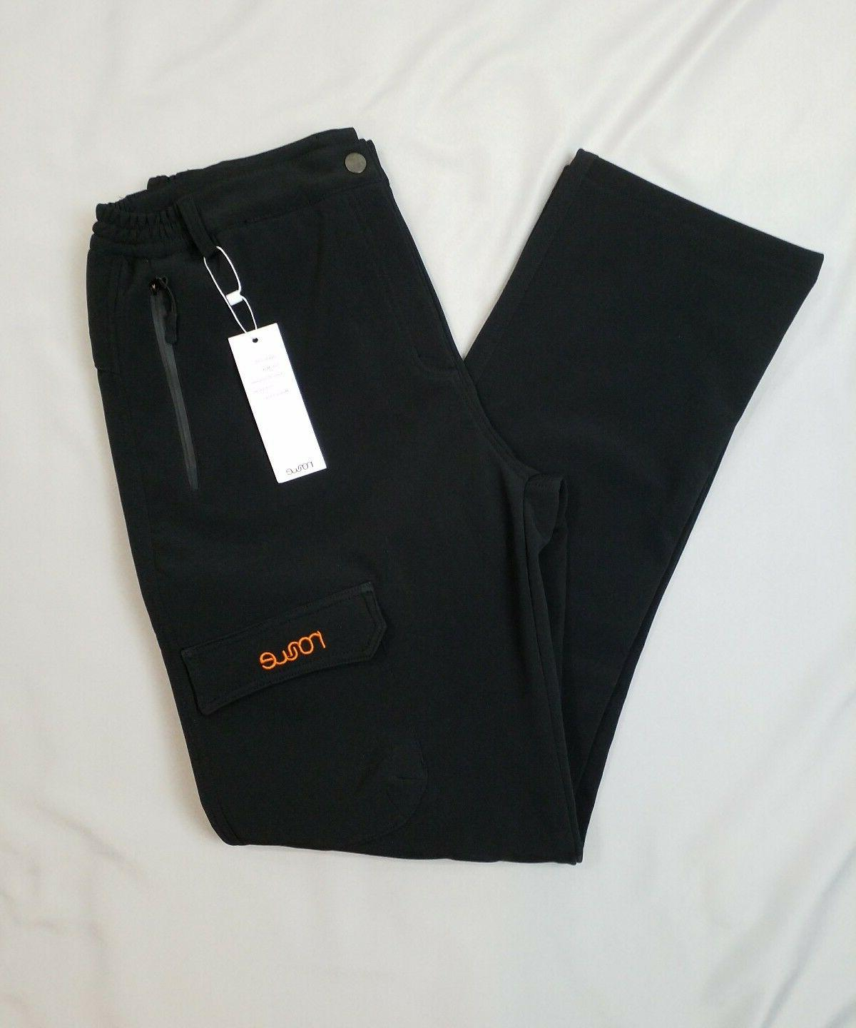 Nonwe Mountain Black Outdoor Hiking Pants Mens