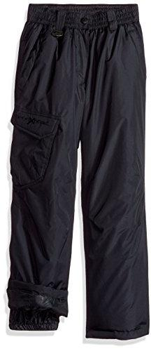 ZeroXposur Big Boys' Plantium Snowpant, Dark Grey, Medium