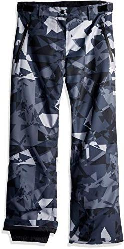 Under Armour Boys' Big Print Rooter Insulated Pant, Multi, L