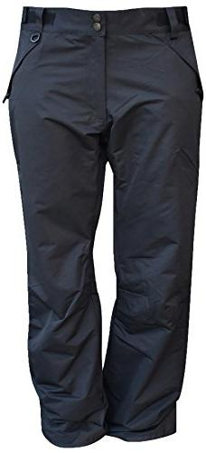 Pulse Mens Big and Tall Snow Skiing Insulated Technical Pant