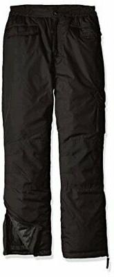 boys big snowpant black 8 10