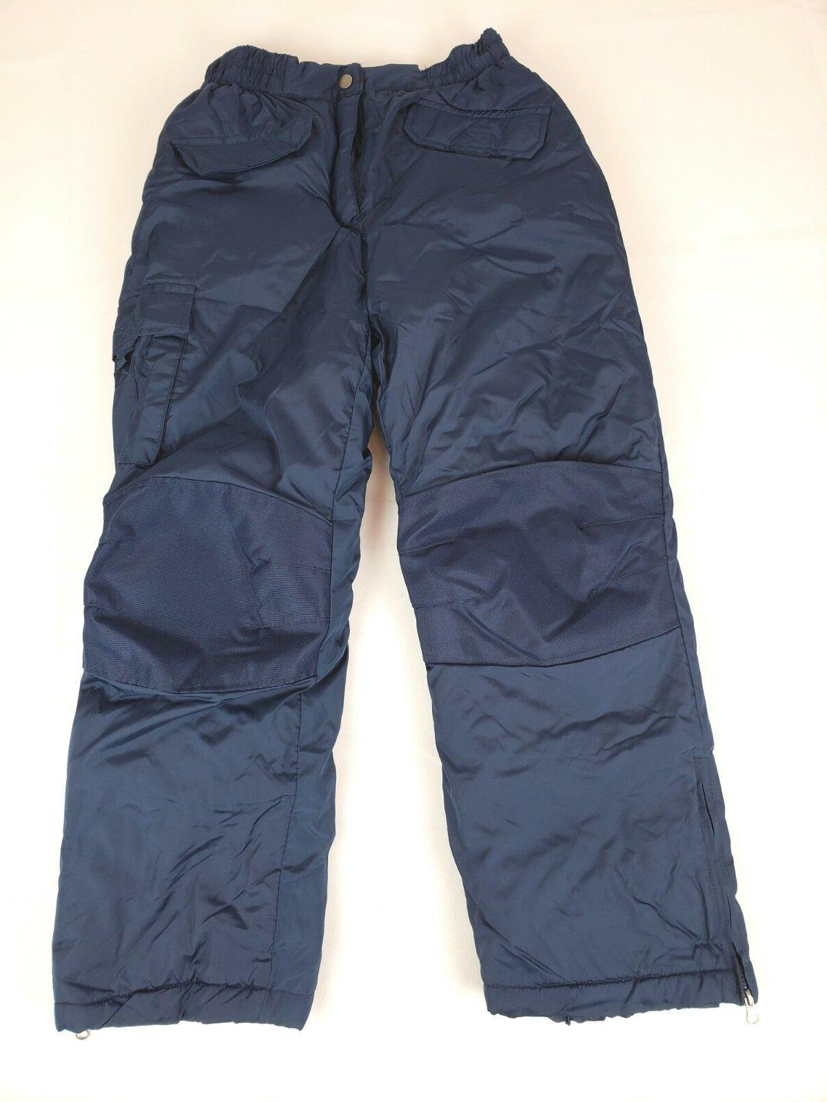 boys big snowpant navy 8 10 outerwear