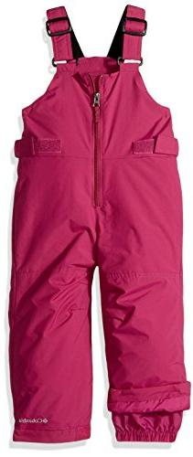Columbia Boys' Little Snowslope Ii Bib, Deep Blush, X-Small